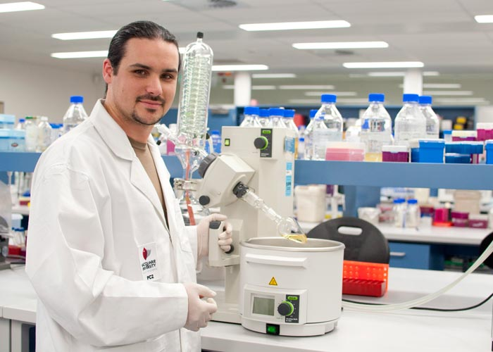 Photo of Macquarie University Science Researcher